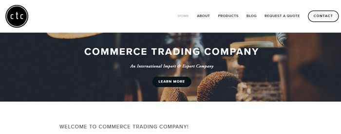 COMMERCE TRADING COMPANY